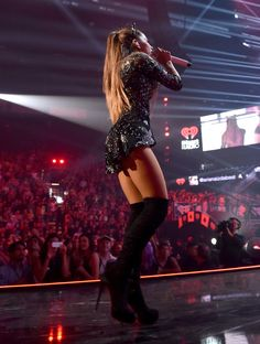 Ariana Grande Photos - 2014 iHeartRadio Music Festival - Night 1 - Show - Zimbio