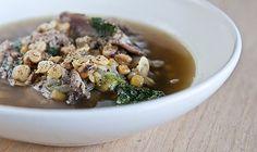 cicerchia bean soup