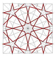 Another group of 5-pointed stars on octagonal design - from Al Salih Tala'i mosque, Cairo. Thank you Eric Broug.