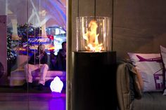 Totem Commerce by Planika  www.planikafires.com www.facebook.com/planikafire  #fireplace #milan #design #modern