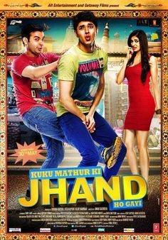 Kuku Mathur Ki Jhand Ho Gayi is a 2014 Hindi comedy, romance, drama film directed by Aman Sachdeva and produced by Ekta Kapoor & Bejoy Nambiar.Siddharth Gupta is playing the title role in the film. Check out the trailer. Bollywood Posters, Bollywood Songs, Watch Hindi Movies Online, Hindi Comedy, Latest Hollywood Movies, Movie Synopsis, Romantic Comedy Movies