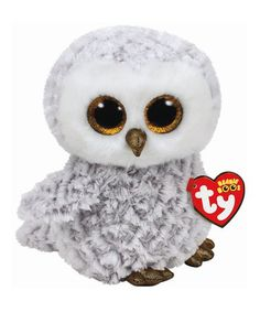 d5a0437dbd9 Owlette the White Owl Beanie Boo Plush Toy  zulilyfinds