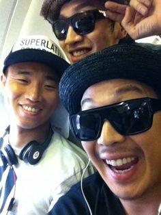 Gwang Soo, Gary and Haha.♥