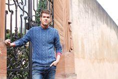 Strickpullover von Strellson für Männer #MEN #Menfashion #Fashion #Blue