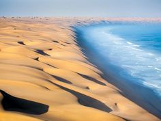 Where the Namib Desert Meets the Atlantic Ocean, Namibia
