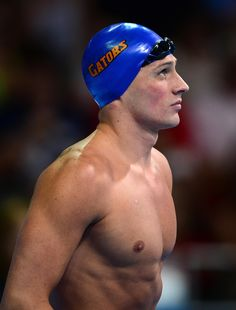 Ryan Lochte at the 2012 U.S. Olympic swimming team trials.