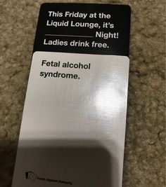 14 Cards Against Humanity Answers That Make Everything Wrong With The World, Right Cards Against Humanity is the notorious card game that involves players to… Most Hilarious Memes, Funny Memes, Jokes, Disney Cards, Disney Disney, Funniest Cards Against Humanity, Fetal Alcohol Syndrome, Funny Tumblr Posts, Play Online