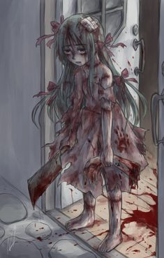 -little girl goes through torture and very traumatic events. Now is numb to everything and wants to kill everyone.