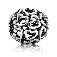 "This new ""Heartfelt""  Pandora charm is a nice addition to their Valentine theme."