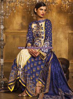images 0f blue week | Al-Karam Textiles Lawn Collection 2013 Volume 1 | Pakistani Fashion ...