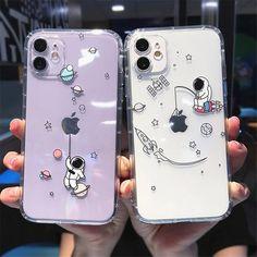 Creative Astronaut Shockproof iPhone Case