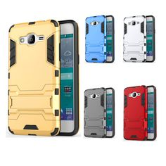 For Samsung J2 Prime 2016 Case Hybrid Kickstand Armor TPU+PC With Stander Protector Back Cover Case for Samsung Galaxy J2 Prime