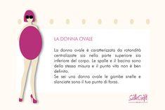 DONNA OVALE Il nostro articolo: http://www.stilefemminile.it/quali-sono-le-forme-femminili/