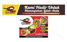 desain banner sego edan branding dari mulai logo banner menu makanan