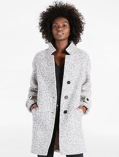 Add comfort and style to any look with premium jackets for women from Lucky Brand. Choose the perfect boho jacket for your authentically original style. Coats For Women, Jackets For Women, Clothes For Women, Stylish Coat, Light Jacket, Comfortable Outfits, Wool Coat, Lucky Brand, Grey