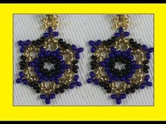 COMO HACER UN SENCILLO ARETE EN MOSTACILLA - YouTube Seed Bead Jewelry, Seed Bead Earrings, Beaded Earrings, Earrings Handmade, Seed Beads, Beaded Jewelry, Drop Earrings, Jewelry Making Tutorials, Beading Tutorials