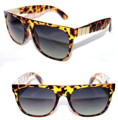5495c2df6a88fd Men s Super Flat Top Sunglasses Impero Future Brown Ember Retro Alligator  Look  Stars  Retro