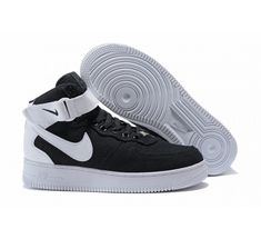 wholesale dealer b0723 4389e Kilimall  NIKE Air Force One men and women high casual shoes basketball  shoes sports shoes black-white 36 1053329
