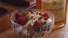 Cranachan   Mad   DR   Mad   DR Raspberry, Ice Cream, Sweets, Baking, Fruit, Desserts, Recipes, Gin, Food