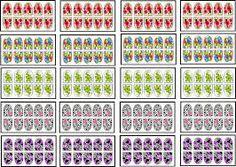 Resultado de imagem para desenhos de adesivos para unhas