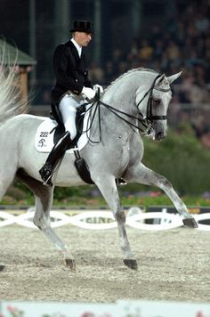 Dressage- love to watch a good horse do lead changes- gorgeous!