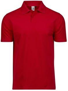 Tee Jays Tee Jays Mens Power Polo Shirt (Red) Tees, Shirts, Teen Boy Fashion, Polo Shirt, Mens Tops, Red, T Shirts, Polos, Polo Shirts