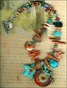 Southwest charm necklace!