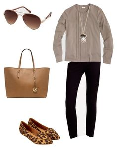 """Untitled #139"" by smag on Polyvore featuring J.Crew, Accessorize and Michael Kors"