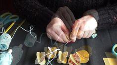 Ostereier und Blüten aus Papier basteln   Last Minute DIY