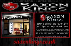 For more info only log on: http://saxonkings.co.uk/property-management-kingston