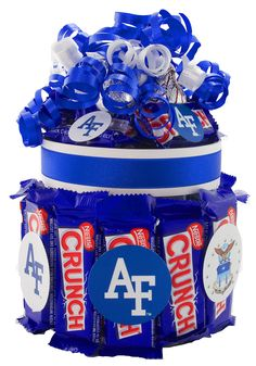Candy Gift Baskets, Candy Gifts, Candy Cakes, Candy Bouquet, Falcons, Football Season, Bouquets, Joseph, Air Force