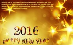 ... | Happy new year 2016, Happy new year wallpaper and New years 2016