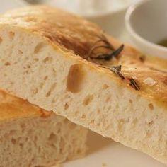 Focaccia s rozmarýnem Chef Recipes, Bread, Baking, Food, Chefs, Party, Brot, Bakken, Essen