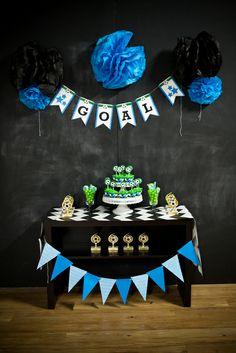 "Soccer/Football/Fútbol / Birthday ""World Cup Team Party"" Soccer Birthday Parties, Sports Birthday, Soccer Party, Birthday Party Themes, Soccer Cake, Soccer Theme, Kids Party Themes, Party Ideas, Bird Party"