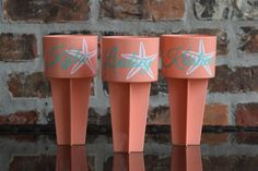 Name Overlay Starfish Beach Spike Cup Holder Beach Cups, Beach Bachelorette, Beach Accessories, Party Cups, Beach Shirts, Silhouette Cameo Projects, Starfish, Overlays, Free Beach