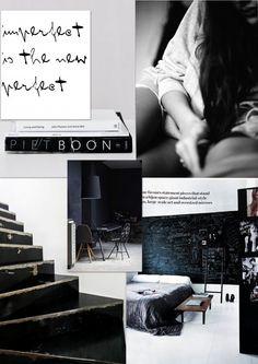 STIL inspiration | black n white moodboard