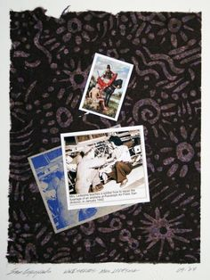 Sam Coronado,  Mrs. Ledesma,  Mixed Media, #LatinoArt #MexicanAmericanArt #serigraphy #printmaking