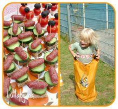 Lullaby & La La: Børnefødselsdag i haven