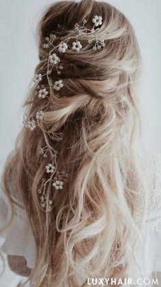 3 DIY Romantic Wedding Hairstyles for Long Hair.