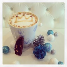 """Vancouver hot chocolate festival 2013 """"Kings Cup"""" chocolate peanut butter and banana!!  #Soirette #hotchocolate #elvis"""