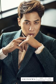 SHINHWA 13TH UNCHANGING - TOUCH CONCEPT PHOTO - Andy