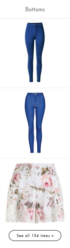 """Bottoms"" by inspiredfashionn ❤ liked on Polyvore featuring jeans, pants, bottoms, calças, blue, super high rise skinny jeans, zipper skinny jeans, high rise jeans, high waisted skinny jeans and elastic-waist jeans"
