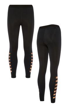 Primark - Schwarze Running-Leggings