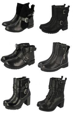 Botas rockeras de Gioseppo  #bikerboots #botasmoteras #rockerboots #leather
