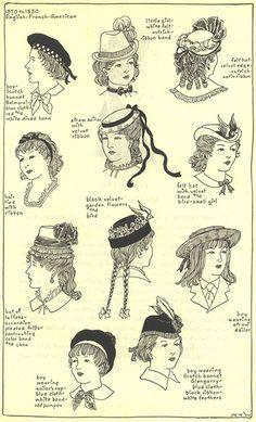 Gli Arcani Supremi (Vox clamantis in deserto - Gothian): Pettinature, acconciature e capelli a fine Ottocento (parte prima, 1870-1880)