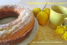 Ciambella al limone e yogurt – Senza burro