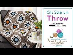 Crochet City Solarium Throw + Tutorial - The Crochet Crowd