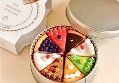 South Korea Photography, Acai Bowl, Panna Cotta, Waffles, Bakery, Presents, Pudding, Packaging, Sweets