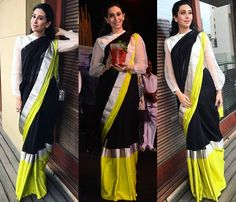 Sheer Blouse Designs For Silk Sarees