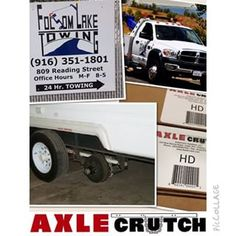Mike, Folsom Lake Towing's General Manager, has added an #AxleCrutchHD to every truck in his fleet.  Mike's team is now prepared to safely and securely assist in moving disabled dual-axle units off of the highway and into a nearby repair facility.  Are you ready to add the #AxleCrutch to your fleet and provide your crew with the latest in towing assistance tools?  Contact AxleCrutch Solutions for fleet pricing today! Call (855) 4-CRUTCH  In honor of all our veterans, past and present, we…